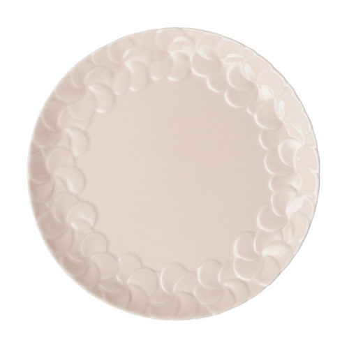 PARTIAL PATTERN FRANGIPANI DINNER PLATE 4