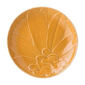 breakfast plate dessert plate dining frangipani collection plate
