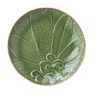 breakfast plate ceramic plate dessert plate dining frangipani collection