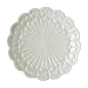 bread & butter plates plate tomoko konno transparent white