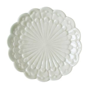 bread & butter plates plate tomoko konno transparent white