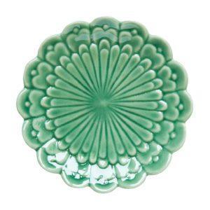 artwork bread & butter plates dark green gloss plate tomoko konno