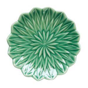 artwork bread & butter plates dark green gloss plates tomoko konno