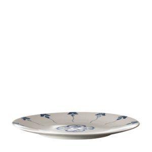 ceramic dining dinner plate indigo floral plate stoneware