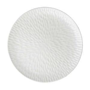 cream kahala hammered plater