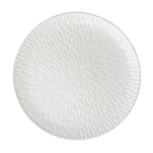 cream kahala hammered plater