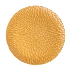gloss yellow hammered plater