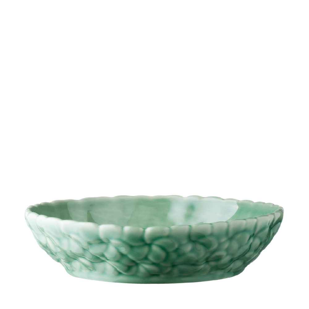FULL PATTERN FRANGIPANI SALAD BOWL 2