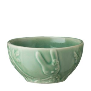 artwork bowl dark green gloss rice bowl tomoko konno