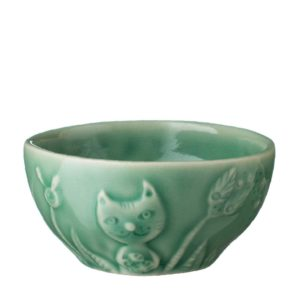 bowl dark green gloss rice bowl tomoko konno