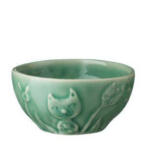 bowl dark green gloss rice bowl tomoko konno