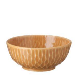 bowl gloss yellow hammered