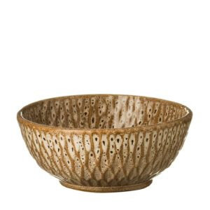 bowl hammered safari beige