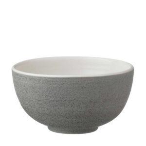 classic round rice bowl timberline white