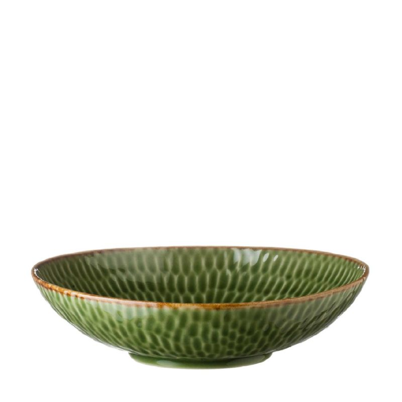 HAMMERED SALAD BOWL 6