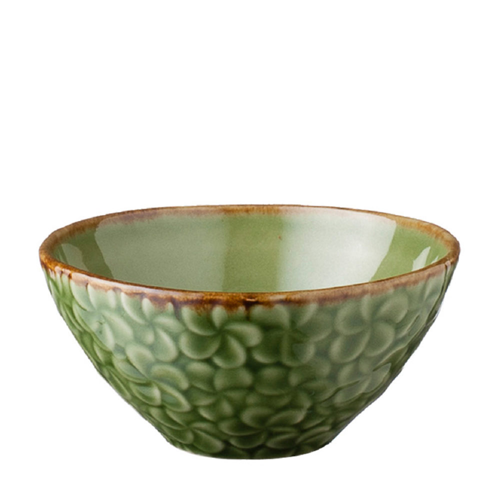 FULL PATTERN FRANGIPANI RICE BOWL 4
