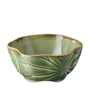lotus collection sauce bowl