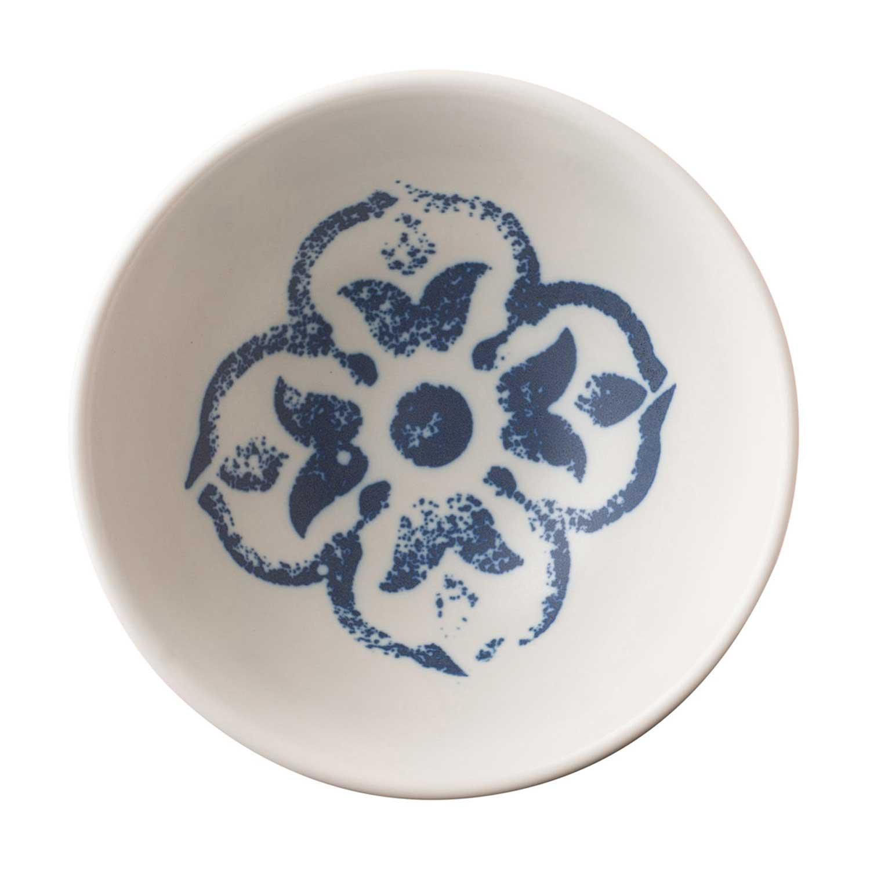 Indigo Floral Rice Bowl