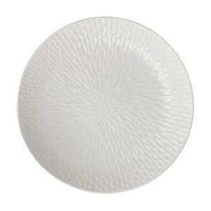 cream kahala hammered serving bowl