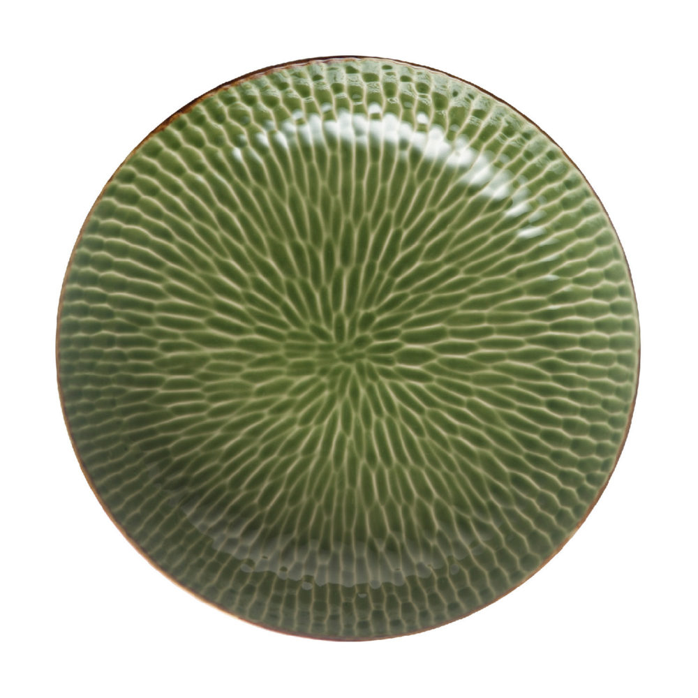 HAMMERED SERVING BOWL 5