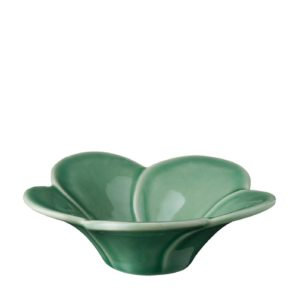 bowls ceramics dark green gloss dining frangipani inacraft award frangipani rice bowl stoneware
