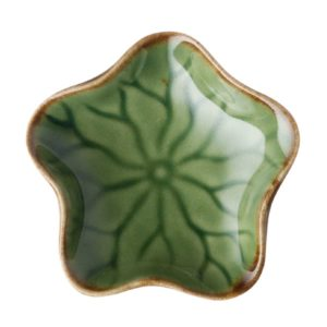lotus collection sauce dish