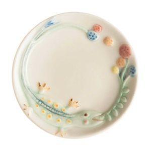 jenggala artwork ceramic sauce dish tomoko konno