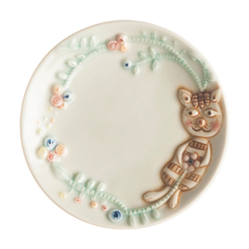 CAT SAUCE DISH BY TOMOKO KONNO2