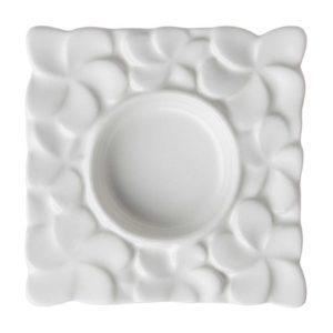 candle holder ceramic cream kahala frangipani inacraft award frangipani stoneware