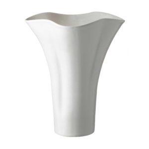 cream kahala lotus vase