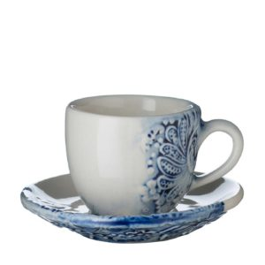 batik collection cup drinkware tea set
