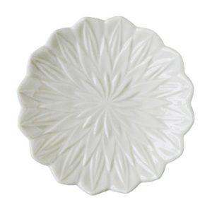artwork bread & butter plate ceramic dining plate stoneware tomoko konno transparent white