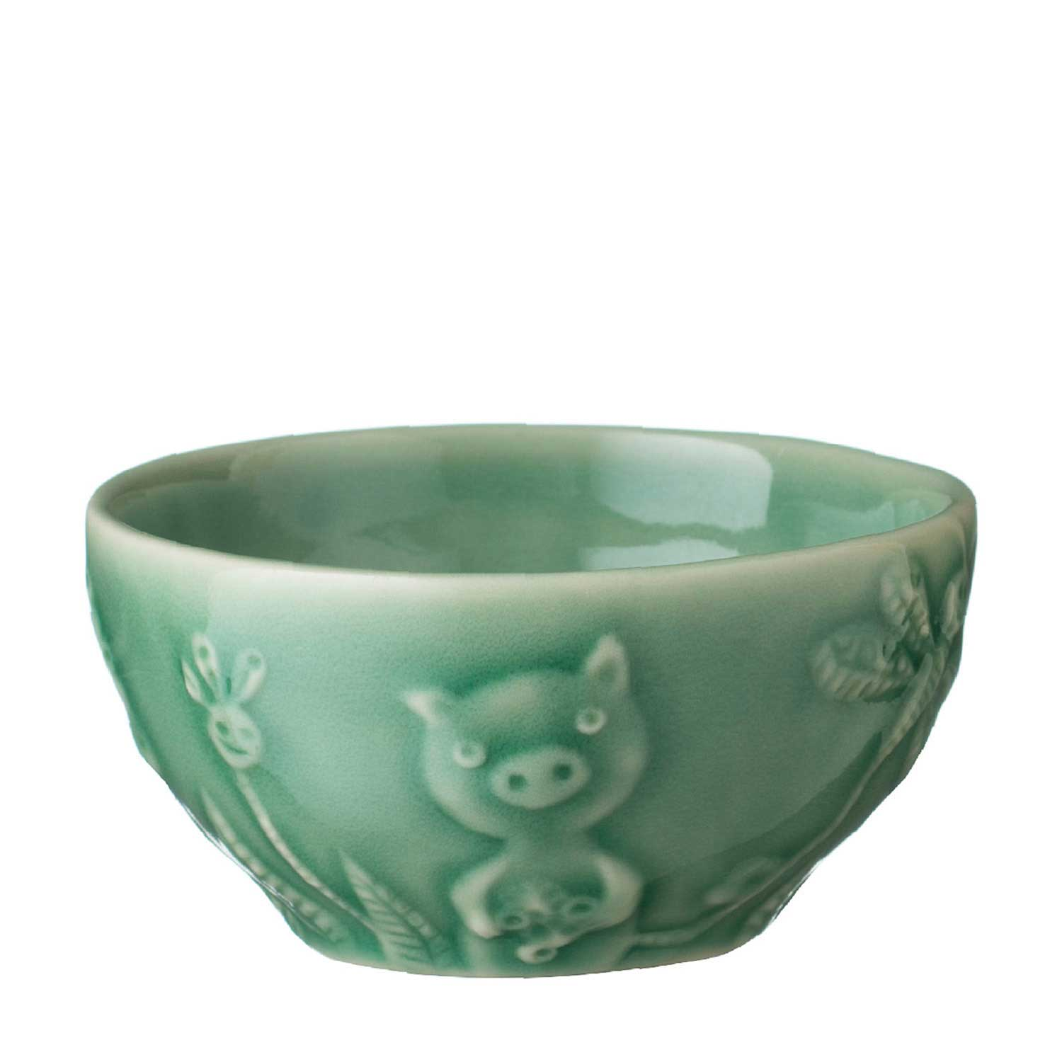 Bowl Pig With Box