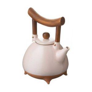 ceramic drinkware pasih pink beach stoneware teapot