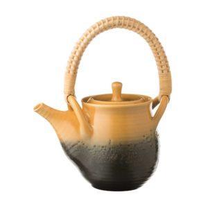 ceramic coffee coffee pot drinkware japanese golden week jugs otaru sunshine wax resist stoneware tea teapot teaset