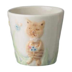 artwork ceramic coffee cup drinkware glass mug stoneware tea teaset tomoko transparent white with handpainting