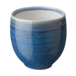 ceramic coffee cup drinkware glass japanese set mug saucer shiny white with light varied blue small saucer stoneware tea teaset