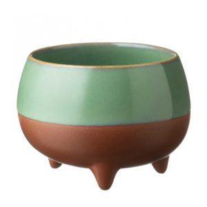cup drinkware pasih seaform green stoneware