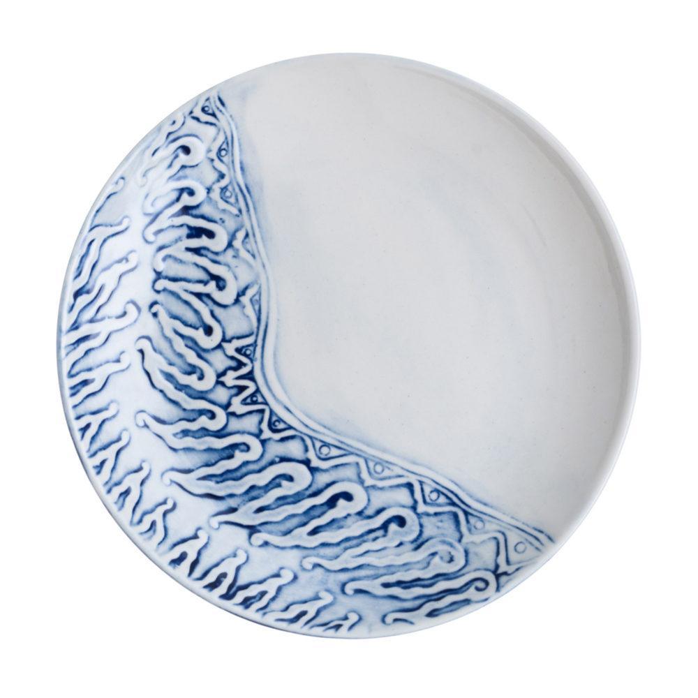 Batik Parang Curigo Dessert Plate