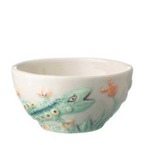 artwork bowl ceramic dining rice bowl stoneware tomoko konno transparent white with handpainting