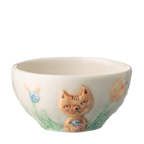 CAT RICE BOWL BY TOMOKO KONNO