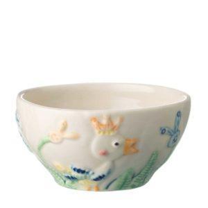 bowl dining jenggala artwork ceramic rice bowl stoneware tomoko konno transparent white with handpainting