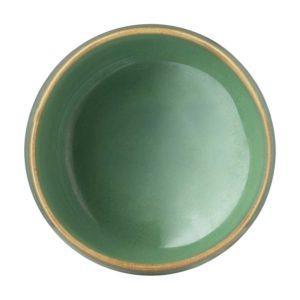bowl ceramic dining pasih rice bowl seaform green stoneware