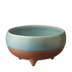 bowl ceramic dining ocean blue pasih rice bowl stoneware