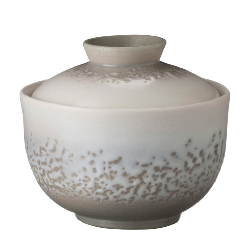 JAPANESE SOUP BOWL WITH COVER 1