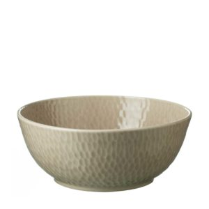 hammered serving bowl