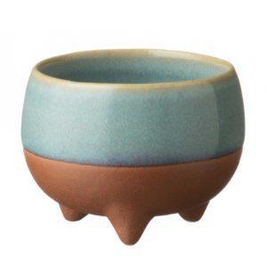 cup drinkware pasih small stoneware tripod