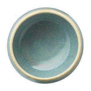 ceramic cup drinkware ocean blue pasih small stoneware tripod