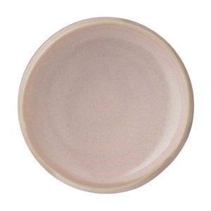 condiment dish dining pasih pink beach sauce dish stoneware