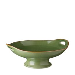 MEDIUM CLASSIC CURVED SERVING PLATE WITH STAND 5